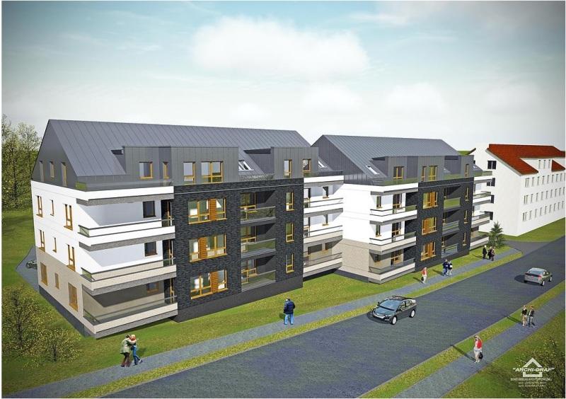 wizualizacje nowej inwestycji mieszkaniowej przy ul. Buczka - autor projektu ARCHI-GRAF