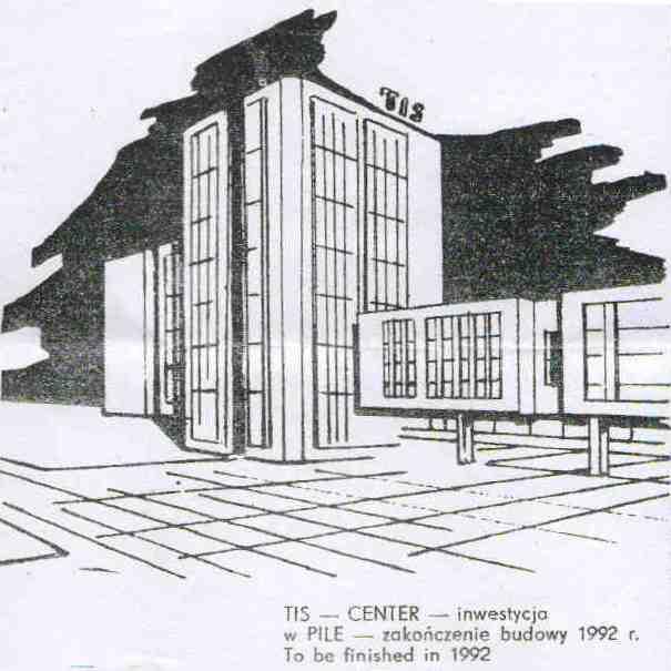 wizualizacja TIS CENTER inwestycji w Pile