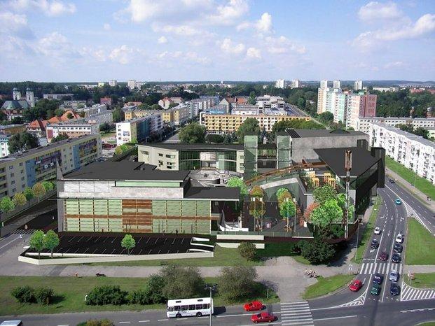 koncepcja zabudowy placu Zwycięstwa - autor: Pracownia Architektoniczna KONTUR