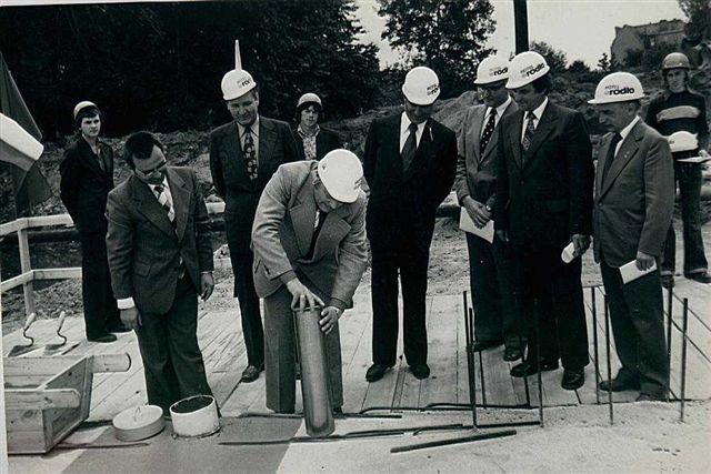 Uroczystość wmurowania aktu erekcyjnego - 19 lipca 1978 r.