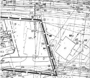 fragment miejscowego planu ogólnego zagospodarowania przestrzennego Piły w rejonie ul. Bydgoskiej - istniejący parking KPo przewidziany do modernizacji