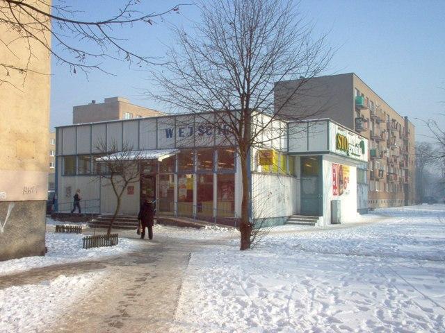 budynek handlowy przy ul. Bydgoskiej, z prawem do przebudowy, rozbudowy i nadbudowy