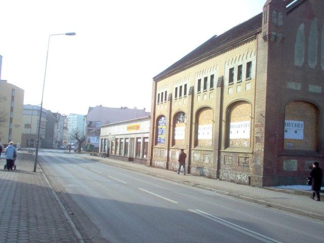 budynek danwej przepompowni - teren A/U1