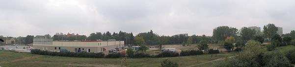 budowa marketu Kaulfand (październik 2005)