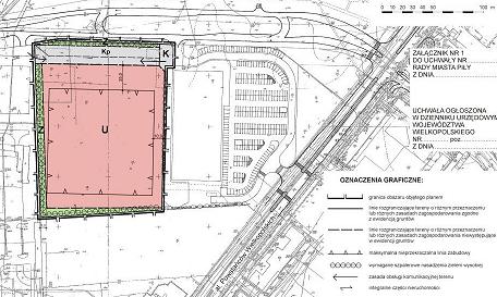 miejscowy plan zagospodarowania przestrzennego w rejonie al. Powstańców Wlkp. - Łącznej z dnia 25 kwietnia 2006 r.