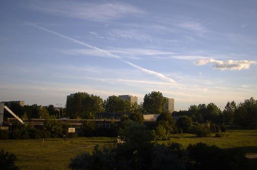 zdjęcie fragmentu rejonu przy ul. Łącznej z roku 2000