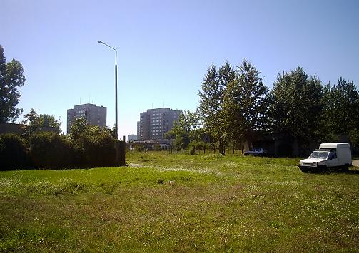 widok na teren U2 (przed rokiem 2000)