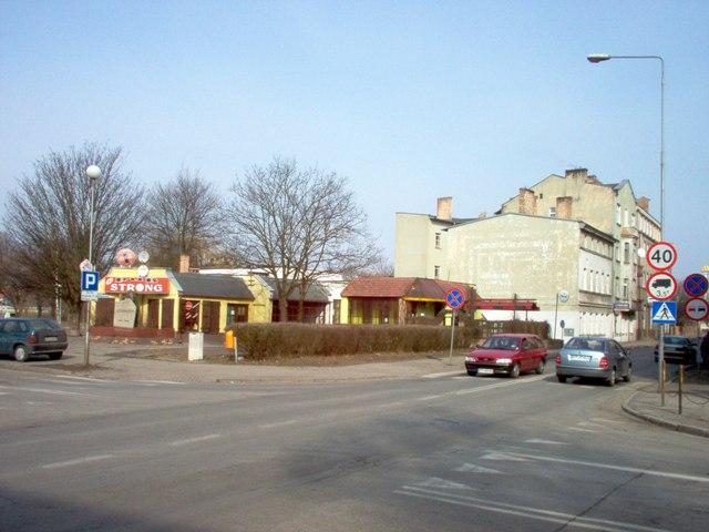 skrzyżowanie ulic Konopnickiej i 11 Listopada